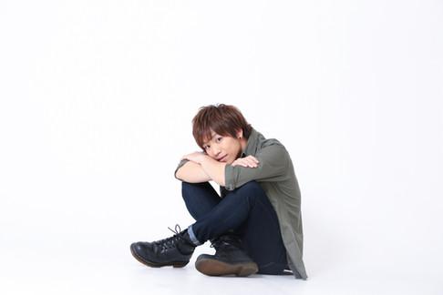 Men's profile. 宣材写真