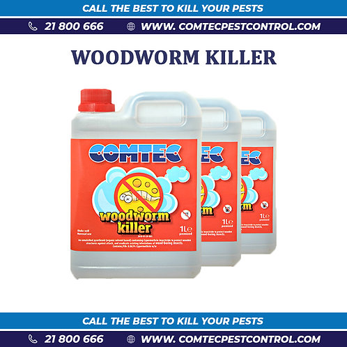 Woodworm Killer - 1 Litre