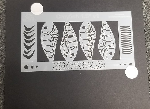 1.5 crawfish stencil