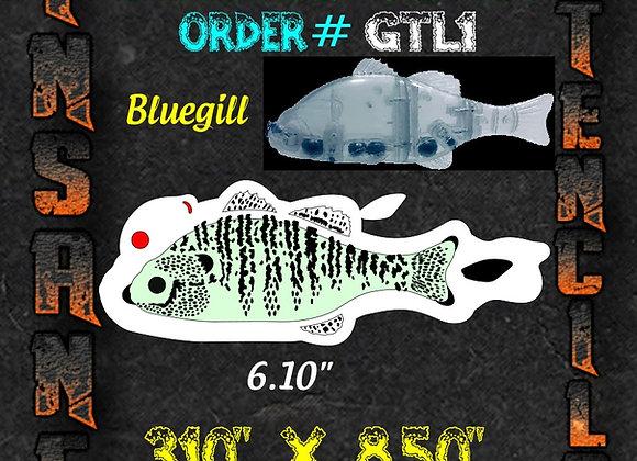 Bluegill - Gantrel stencil