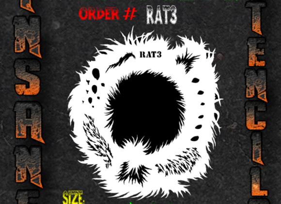Rat Wheel Stencil