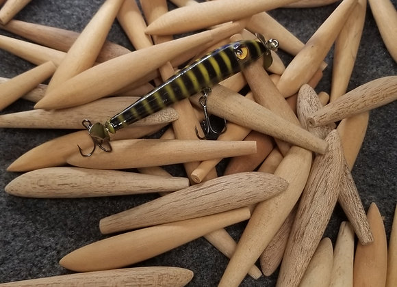 Wood stickbait