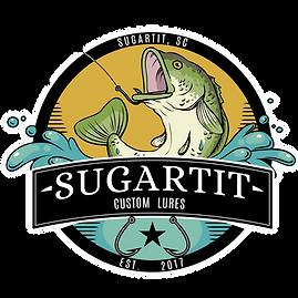 Sugartit Lures Logo - Full Color - Trans