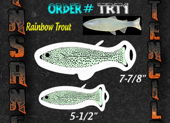 Rainbow Trout Stencil