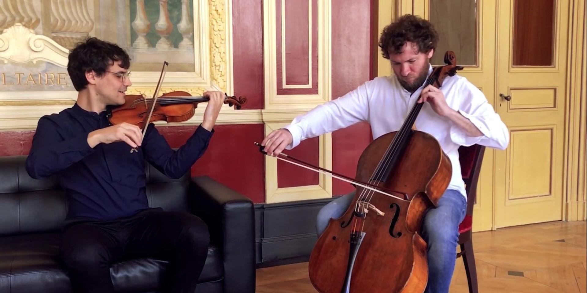 Pierre Fouchenneret et Victor Julien-Laferrière