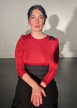 Lavinia as Sarah