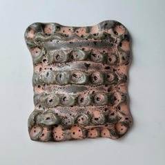 Wall Piece6 15 by 17 cm Porcelain 2020 £175