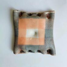 Wall piece2 18 by 18 cm Stoneware 2020