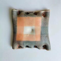 Wall piece2 18 by 18 cm Stoneware 2020 £200