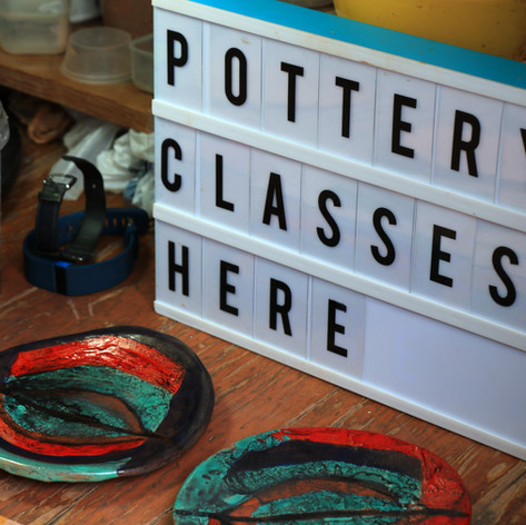 pottery classes here