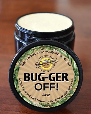 Bug-ger Off Final 'Label' Open Jar Image