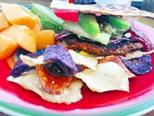 Ali's Slammin Veggie Burger