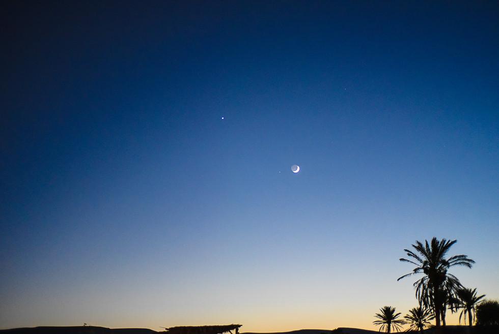 Night at the Desert