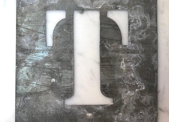 T Metal Stencil