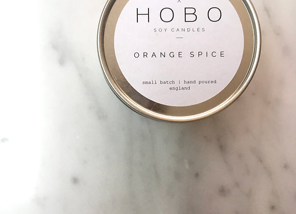 Orange Spice Hobo Soy Candle