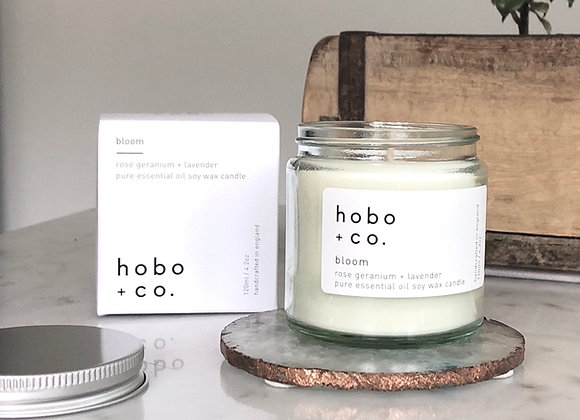 Hobo Bloom Essential Oil Candle