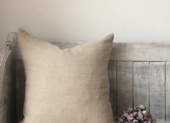 50cm x 50cm Natural Linen Cushion Cover