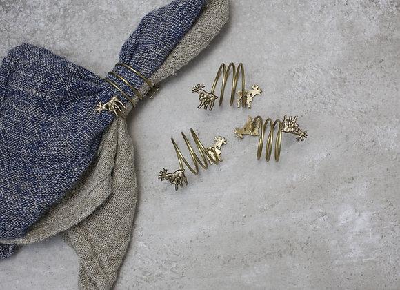 Stag Napkin Rings