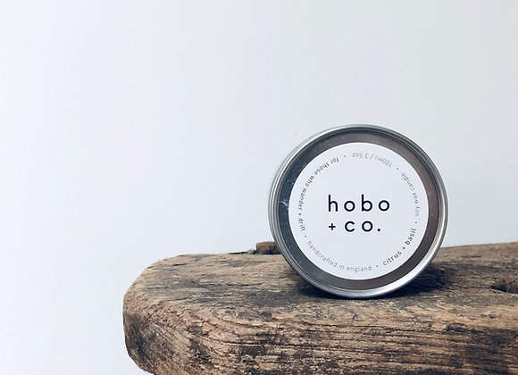 Hobo Citrus + Basil Travel Tin