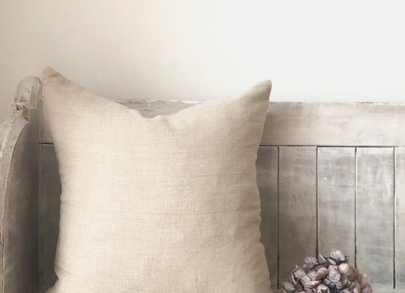 50cm x 50cm Natural Linen Cushion Cover