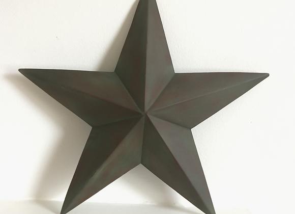 Decorative Metal Star 32 x 32 cm