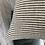 Thumbnail: 40cm x 40cm Black and Natural stripe Linen Cushion Cover
