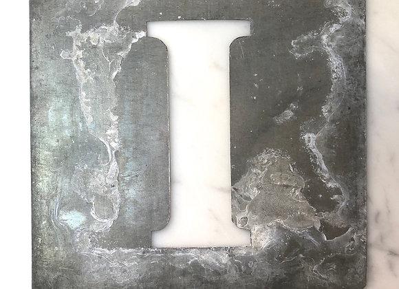 I Metal Stencil