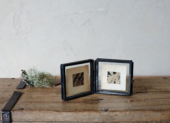 Tiny Antique Black Frame