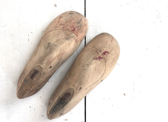 Pair of Child's Vintage Shoe Trees