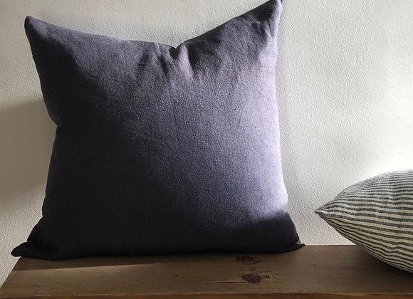 50cm x 50cm Charcoal Linen Cushion Cover