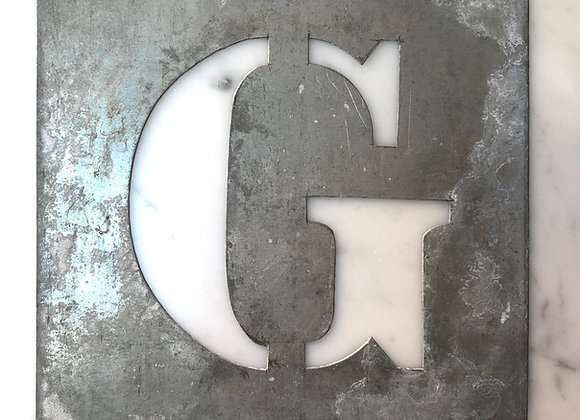 G - Metal stencil