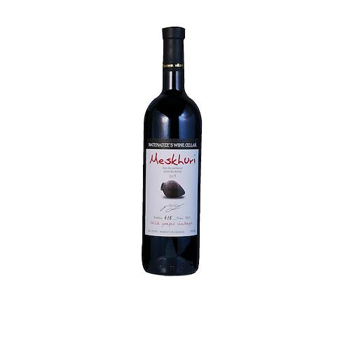 Meskhuri Red Wild Grapes Qvevri Wine 2015