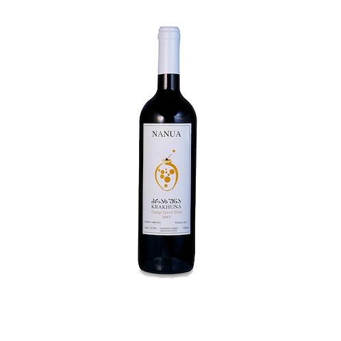 Krakhuna Proper Amber (Orange) Qvevri Wine 2017