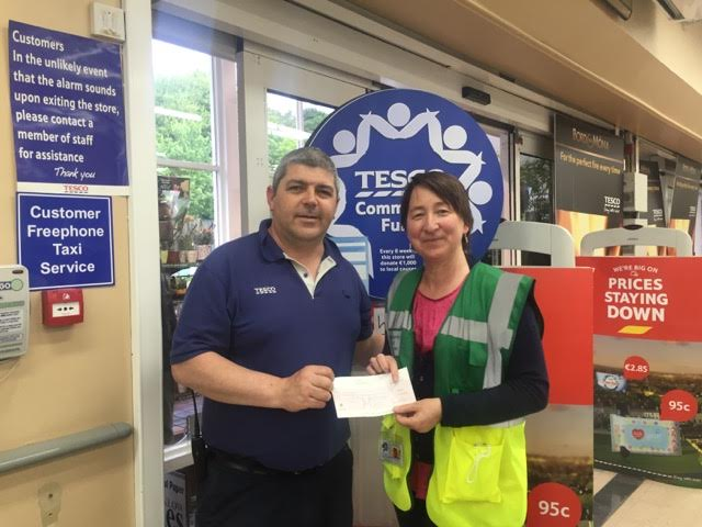 Tesco Blue Token Donation