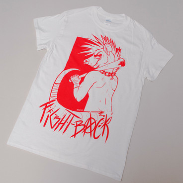 FIGHT BACK FLUO PRINT