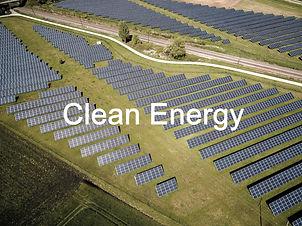 Clean energy - a utility-scale solar array