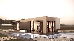 Engineered energy efficient home