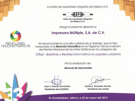 2013 - Mención Honorífica