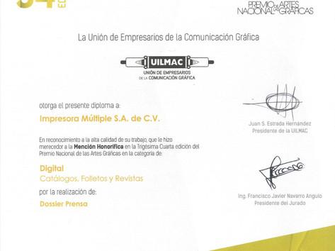 2014 - Mención Honorífica