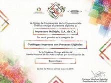 2018 - Premio Nacional