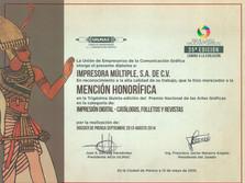 2015 - Mención Honorífica