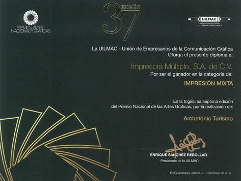 2017 - Premio Nacional
