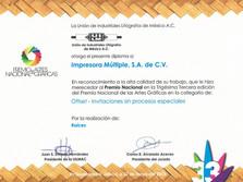 2013 - Premio Nacional