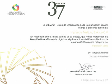 2017 - Mención Honorífica