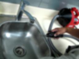 robot ile tıkanıklık açma, makina ile lavabo açma, mutfak lavabosu açma