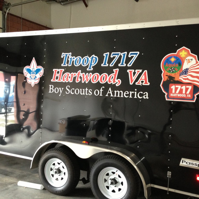 Troop 1717 Boyscout Trailer