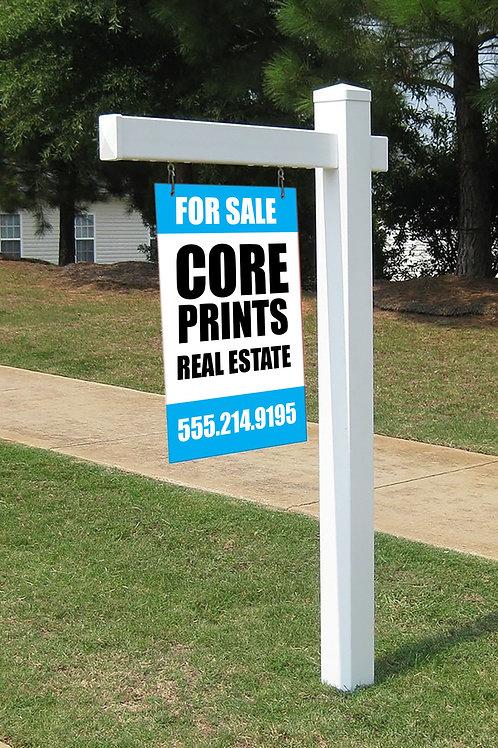 Real Estate Sign Post
