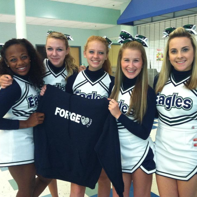 Colonial Forge Cheerleading Shirts
