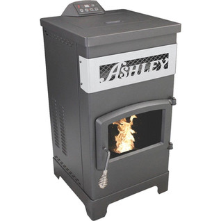 Ashley wood burning pellet stove.