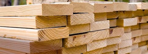 Dimensional framing lumber at RAKS.